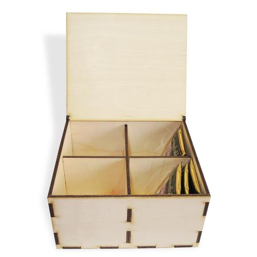 Аксессуары Коробка под чайные пакетики, 4 отдел (фото)