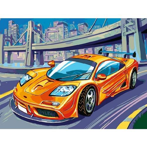 """Набор для раскрашивания Белоснежка """"McLaren F1 GTR"""""""