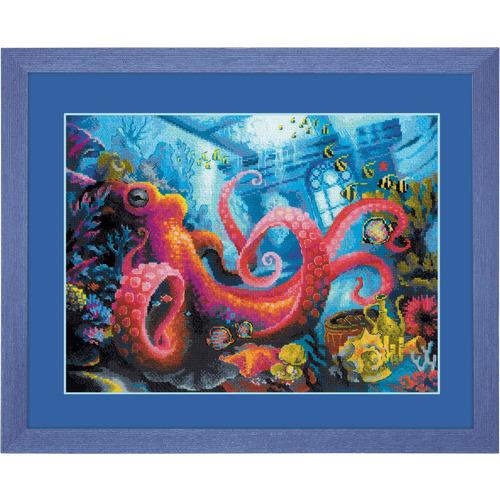 """Набор для вышивания крестом Риолис """"Подводное царство"""" (фото)"""