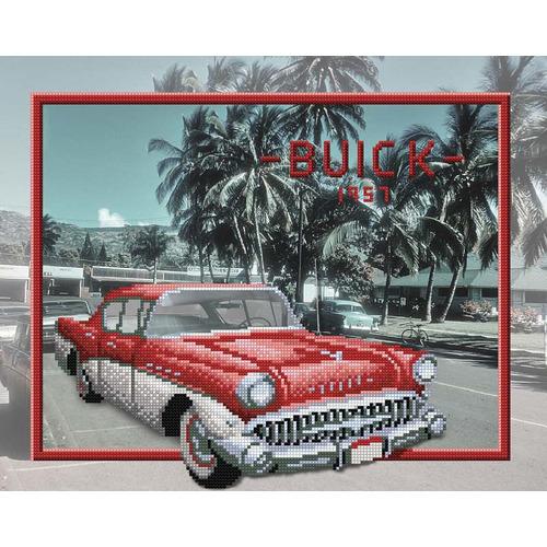 """Канва/ткань с нанесенным рисунком М.П. Студия """"Buick"""""""