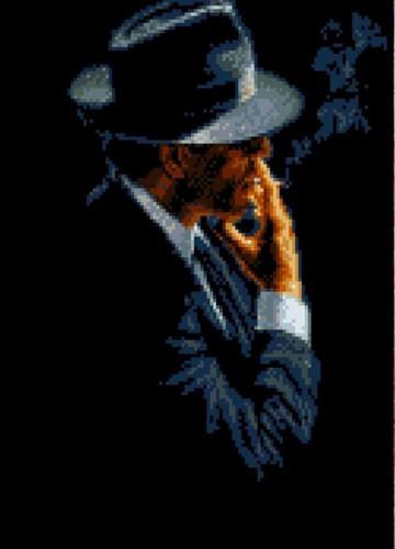 """Канва/ткань с нанесенным рисунком Каролинка """"Незнакомец"""""""