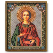 """Набор для вышивания бисером Радуга бисера (Кроше) """"Святой Великомученик и Целитель Пантелеимон"""""""