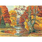 """Набор для вышивания крестом Eva Rosenstand """"Лесное озеро"""""""