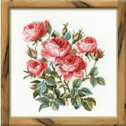"""Набор для вышивания крестом Риолис """"Садовые розы"""""""