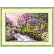 """Набор для вышивания крестом Риолис """"Весенний пейзаж"""""""