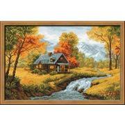 """Набор для вышивания крестом Риолис """"Осенний пейзаж"""""""