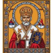 """Набор для вышивания крестом Luca-S """"Икона Святой Николай"""""""