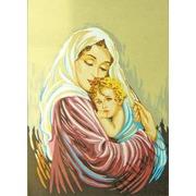 """Канва/ткань с нанесенным рисунком Gobelin-L """"Мать и дитя"""""""