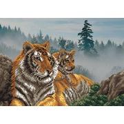 """Набор для вышивания бисером Матрёнин посад """"Утро в тигровой пади"""""""
