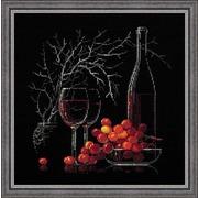 """Набор для вышивания крестом Риолис """"Натюрморт с красным вином"""""""