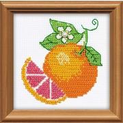 """Набор для вышивания бисером Риолис """"Апельсин"""""""