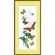 """Набор для вышивания крестом Риолис """"Экзотические бабочки"""""""