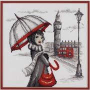 """Набор для вышивания крестом Марья искусница """"Лондон"""" по рисунку О. Куреевой"""