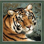 """Набор для вышивания крестом Риолис """"Амурский тигр"""""""