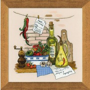 """Набор для вышивания крестом Риолис """"Натюрморт с перцем"""""""