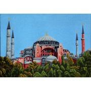 """Канва/ткань с нанесенным рисунком Gobelin-L """"Голубая мечеть"""""""
