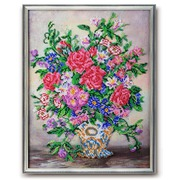 """Набор для вышивания бисером Радуга бисера (Кроше) """"Вальс цветов"""""""