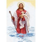 """Набор для вышивания крестом Алиса """"Христос"""""""