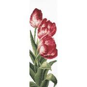 """Набор для вышивания крестом Палитра """"Тюльпаны"""""""