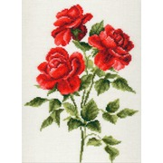 """Набор для вышивания крестом Палитра """"Три розы"""""""