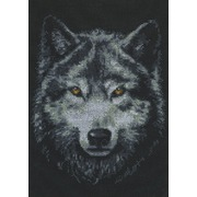 """Набор для вышивания крестом Палитра """"Взгляд волка"""""""
