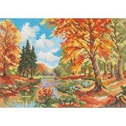 """Набор для вышивания крестом Алиса """"Сентябрь в лесу"""""""