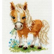 """Набор для вышивания крестом Алиса """"Белогривая лошадка"""""""