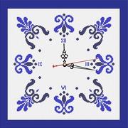 """Набор для вышивания бисером Zengana """"Часы. Зима"""""""