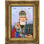 """Набор для вышивания бисером Вышиваем бисером """"Икона Николай Чудотворец"""""""