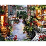 """Набор для вышивания крестом Чудесная игла """"Вечер в Венеции"""""""