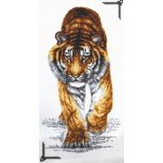 """Набор для вышивания крестом Палитра """"Поступь тигра"""""""