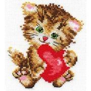 """Набор для вышивания крестом Алиса """"Любимая киска"""""""