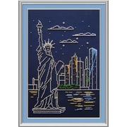 """Набор для вышивания бисером М.П. Студия """"Нью-Йорк"""""""