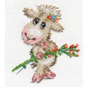 """Набор для вышивания крестом Алиса """"Милая овечка"""""""