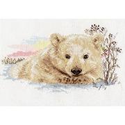 """Набор для вышивания крестом Алиса """"Северный медвежонок"""""""
