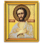 """Набор для вышивания бисером Радуга бисера (Кроше) """"Святой Алексий Человек Божий"""""""
