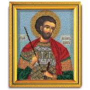 """Набор для вышивания бисером Радуга бисера (Кроше) """"Святой Иоанн Воин"""""""