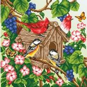 """Канва/ткань с нанесенным рисунком М.П. Студия """"Рисунок на габардине"""""""