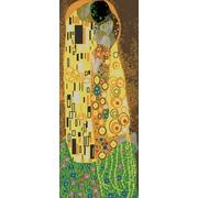 """Канва/ткань с нанесенным рисунком Конёк """"Поцелуй (Г. Климт) """""""