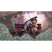 """Канва/ткань с нанесенным рисунком Конёк """"Романтика"""""""