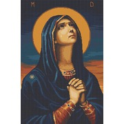 """Набор для вышивания крестом Luca-S """"Б.М. Всех Скорбящих Радость"""""""