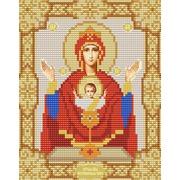 """Канва/ткань с нанесенным рисунком Конёк """"Богородица Неупиваемая Чаша"""""""
