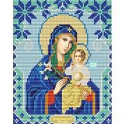 """Канва/ткань с нанесенным рисунком Конёк """"Богородица Неувядаемый Цвет"""""""