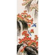 "Канва/ткань с нанесенным рисунком Конёк ""Водопад"""