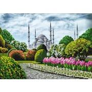 """Канва/ткань с нанесенным рисунком Конёк """"Голубая мечеть"""""""