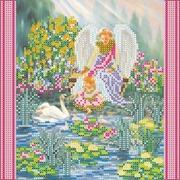 "Канва/ткань с нанесенным рисунком Абрис Арт ""Райский сад"""