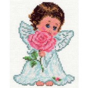 """Набор для вышивания крестом Алиса """"Ангелок любви"""""""