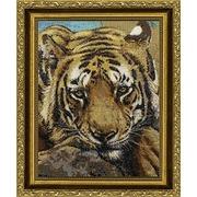 """Набор для вышивания крестом Kustom Krafts Inc. """"Сибирский тигр"""""""