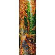 """Канва/ткань с нанесенным рисунком Конёк """"Полиптих. Осень. №1"""""""