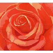"Канва/ткань с нанесенным рисунком Конёк ""Роза"""